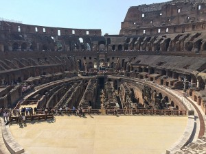 The Colosseum in Rome Inside Opt