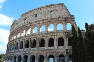 The Colosseum in Rome Opt